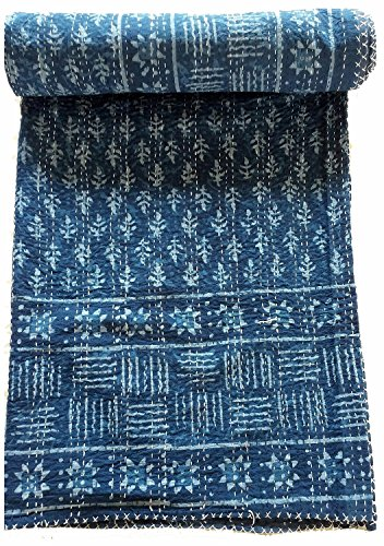 indian kantha quilt - 2