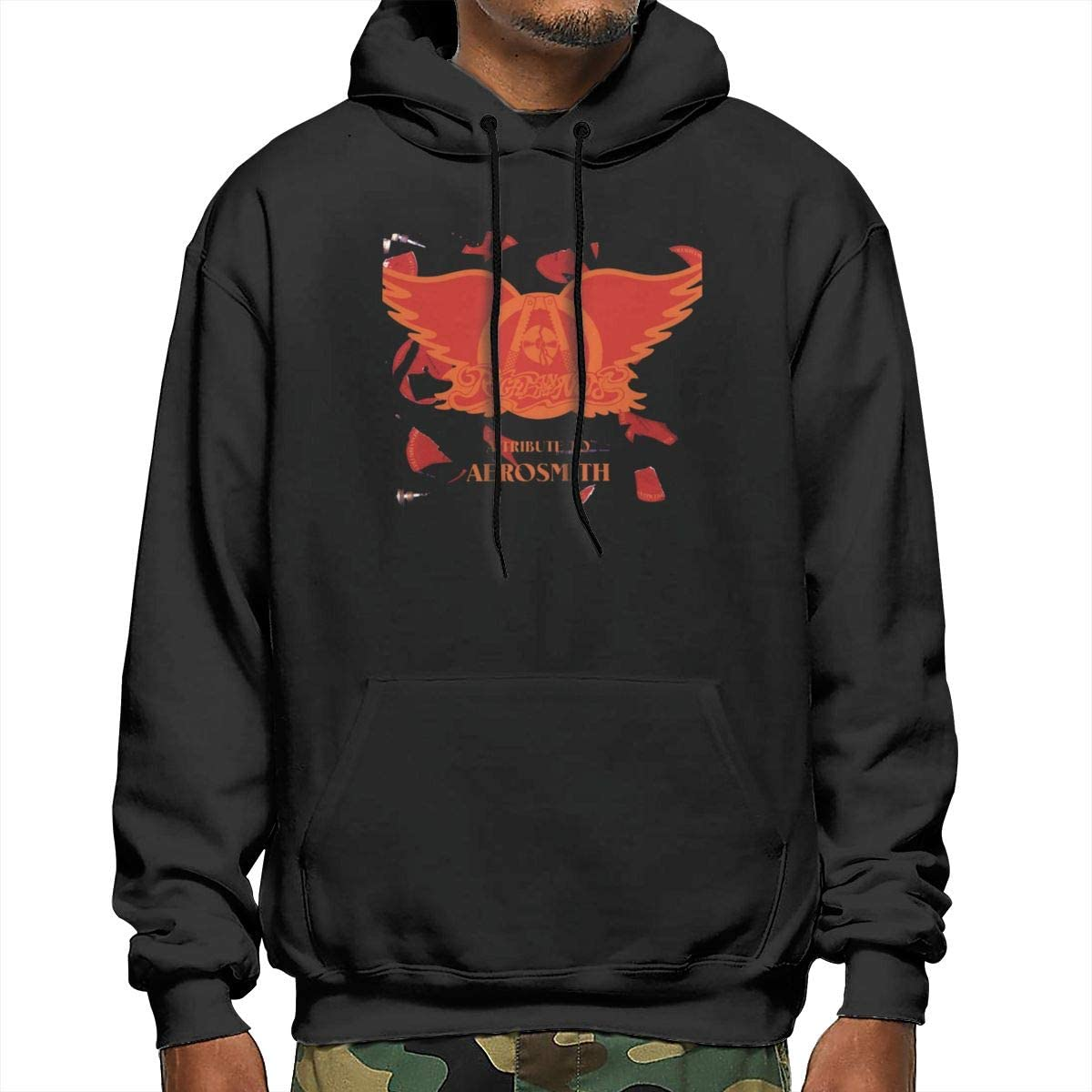 Sanda Lick and Promise Mens Hooded Sweatshirt