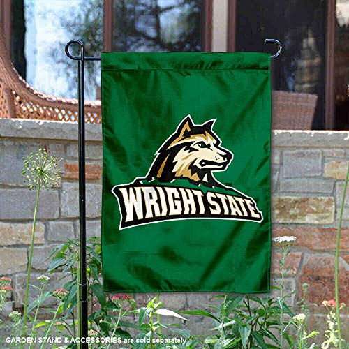 College Flags and Banners Co. Wright State Raiders New Logo Garden - Wright State University