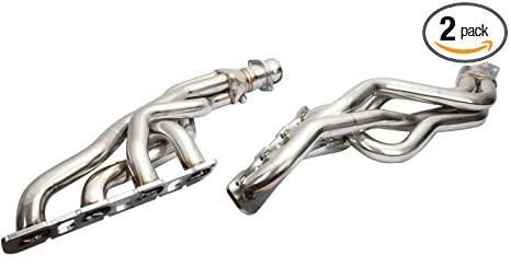 DNA Motoring HDS-SRT8 Stainless Steel Exhaust Header Manifold