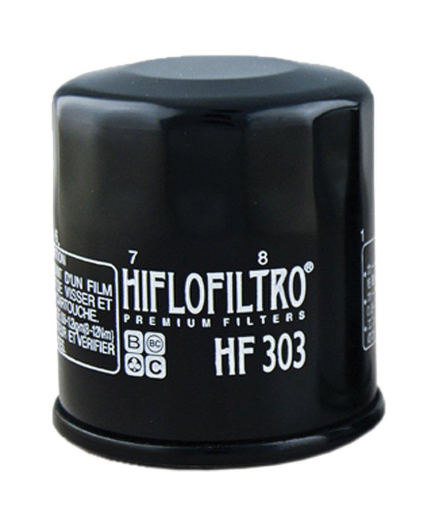 Hiflofiltro HF303 Black Oil Filter AMR Racing Hiflofiltro HF303 Black Premium Oil Filter