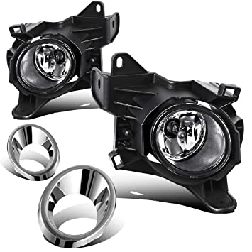 autosaver88 factory style chrome fog lights for nissan pathfinder 2013 2014 2015 2016 (clear lens with bulbs \u0026 wiring harness) Dodge Ram 1500 Fog Light Wiring