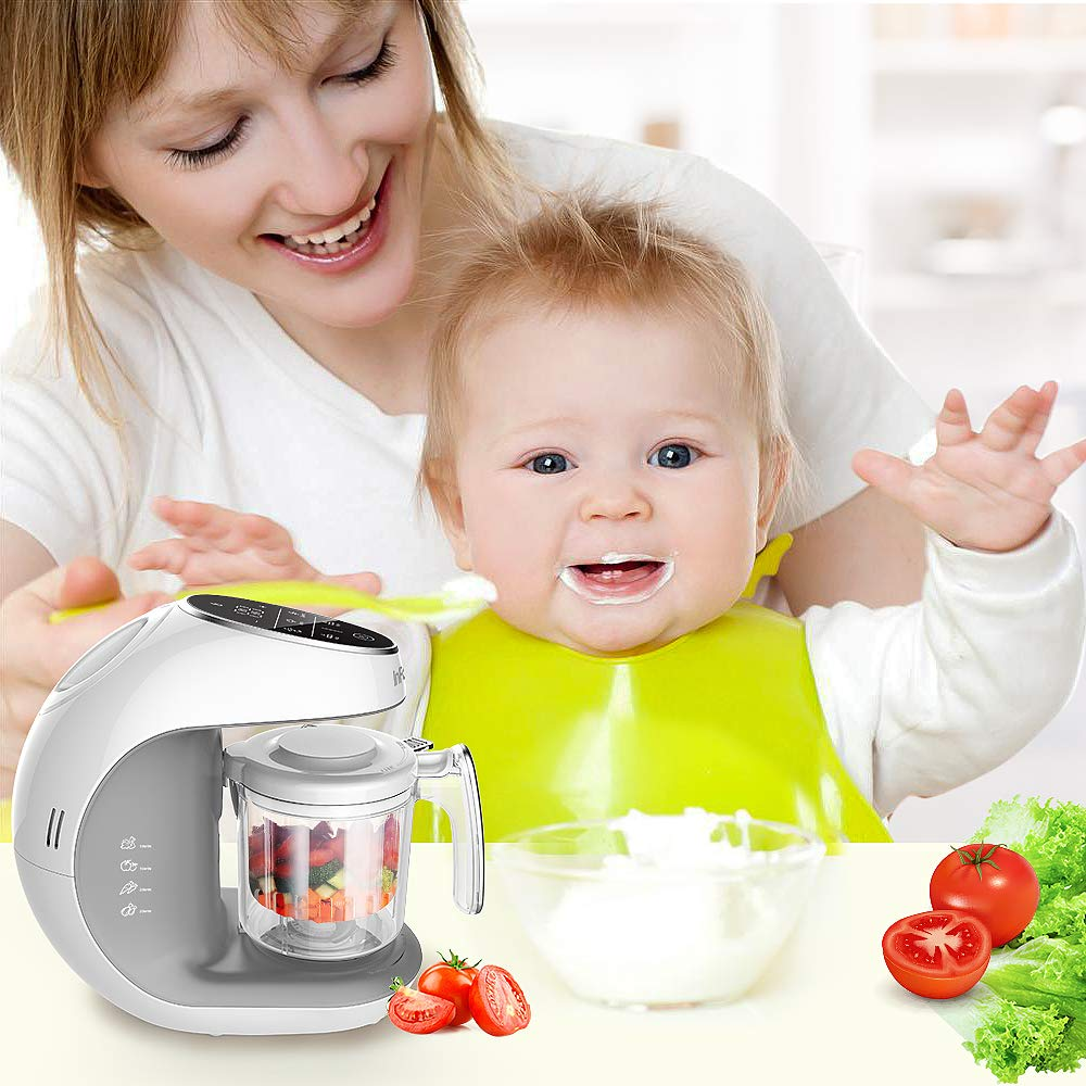 Infanso Baby Food Maker Food Processor BF300 for Infants and Toddlers 7 in 1 Organic Food Making Machine with Steam Cooker, Blender, Chopper, Defroster, Reheater, Disinfector and Auto Cleaning by InFanso (Image #7)