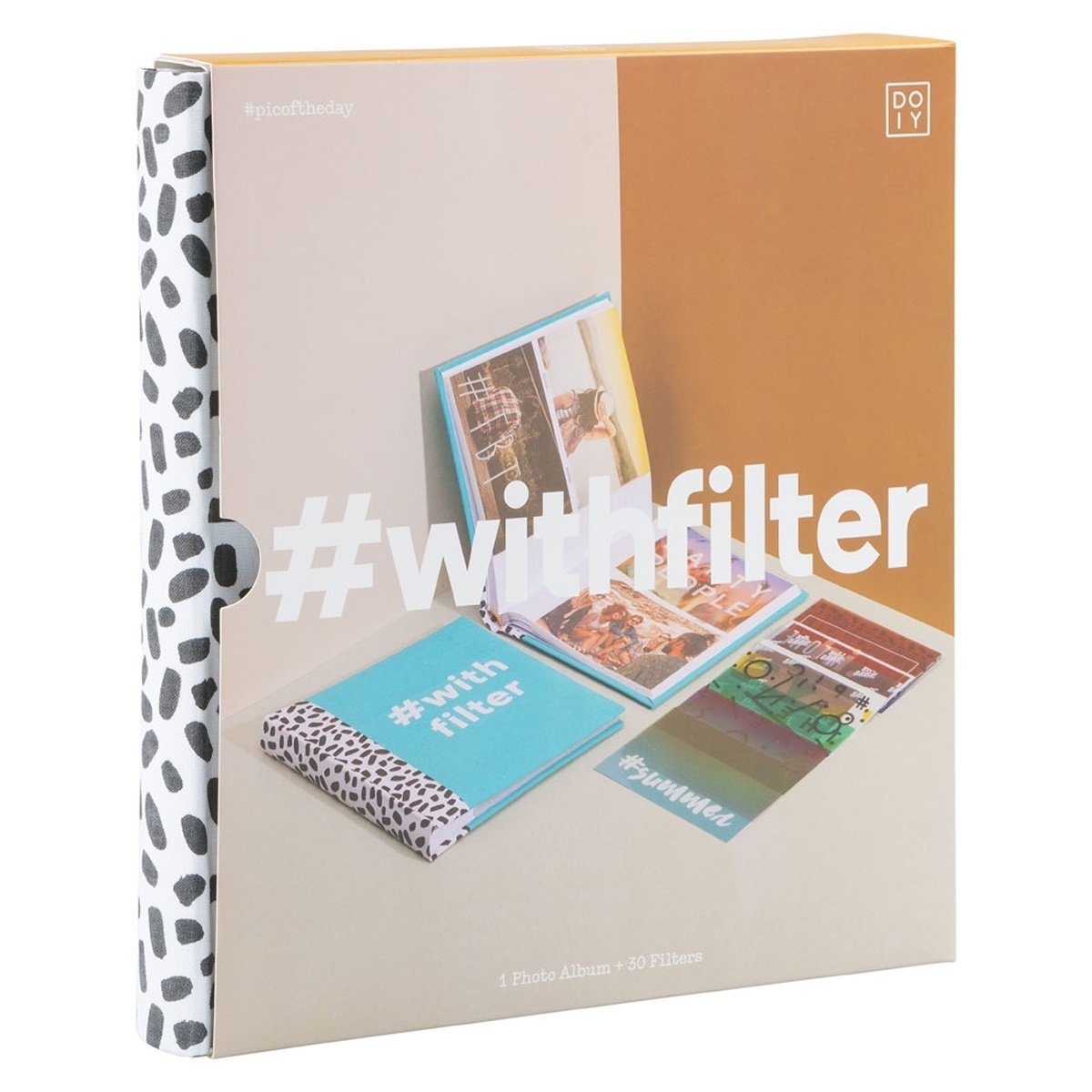 DOIY CUSTOM #Withfilter Multicolor Photo Album With Filters (Blue)