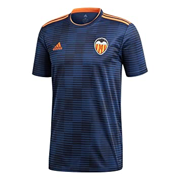 1f9210ebac6 adidas 2018-2019 Valencia Away Football Soccer T-Shirt  Amazon.co.uk ...