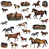 RoomMates RMK1017SCS Wild Horses Peel & Stick