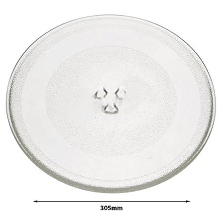 Spares2go cristal Tocadiscos placa plato para Sharp R372 (K ...