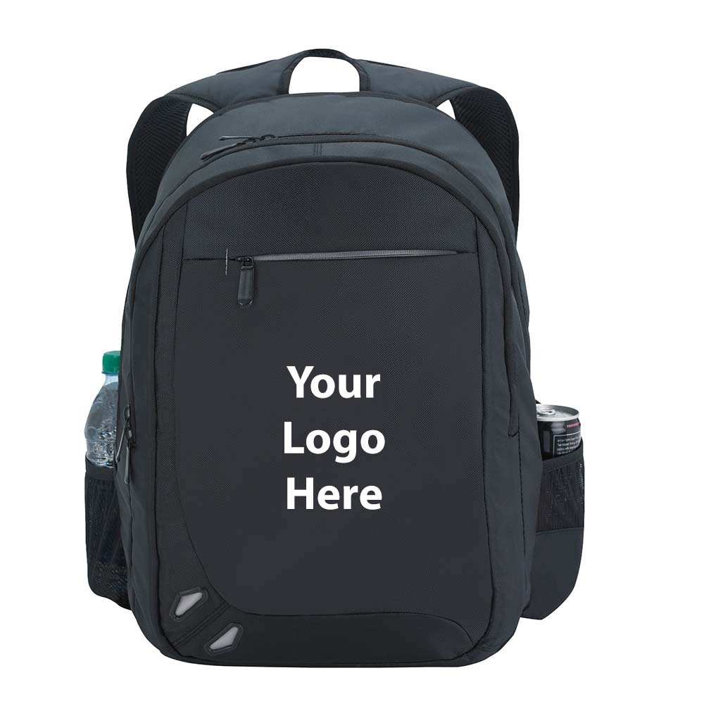 Premiere Backpack - 25 Quantity - $36.65 Each - PROMOTIONAL PRODUCT / BULK / BRANDED with YOUR LOGO / CUSTOMIZED