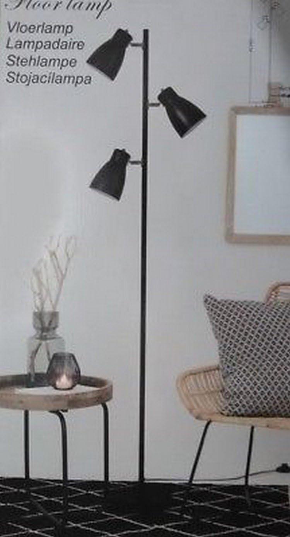 Stehleuchte Auf Fussen Lampe Industrial Design Spot Schwenkbar