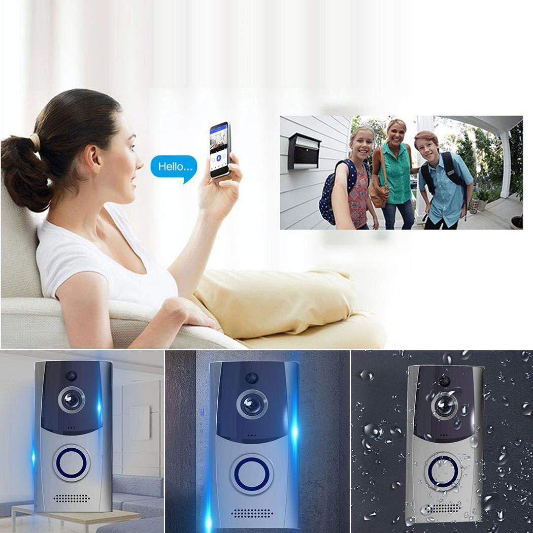DAZZILYN Low Power Intelligent Wifi Voice Intercom Doorbell Home Smart Monitoring Doorbell