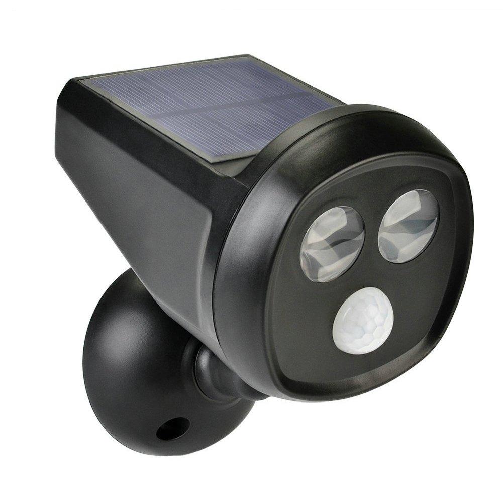 Motion Sensor Spotlight, Outdoor Led Security Spotlight Super Bright Wireless Security Spotlight, Auto ON/Off Solar Security Night Light for Door, Garage, Garden(1 Pack)