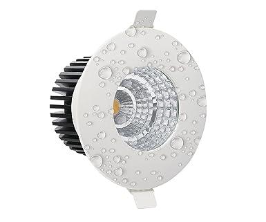Feuchtraum Einbauleuchte wasserdicht GU10 Aqua inkl LED 5W Leuchtmittel IP65 A