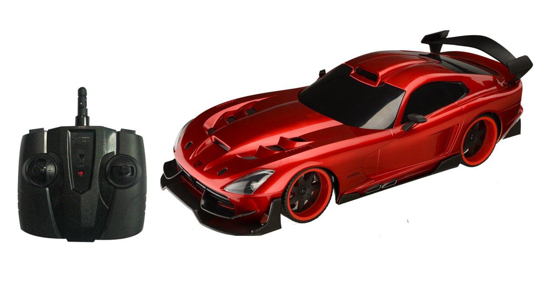 amazon com srt viper radio controlled car 1 18 toys u0026 games