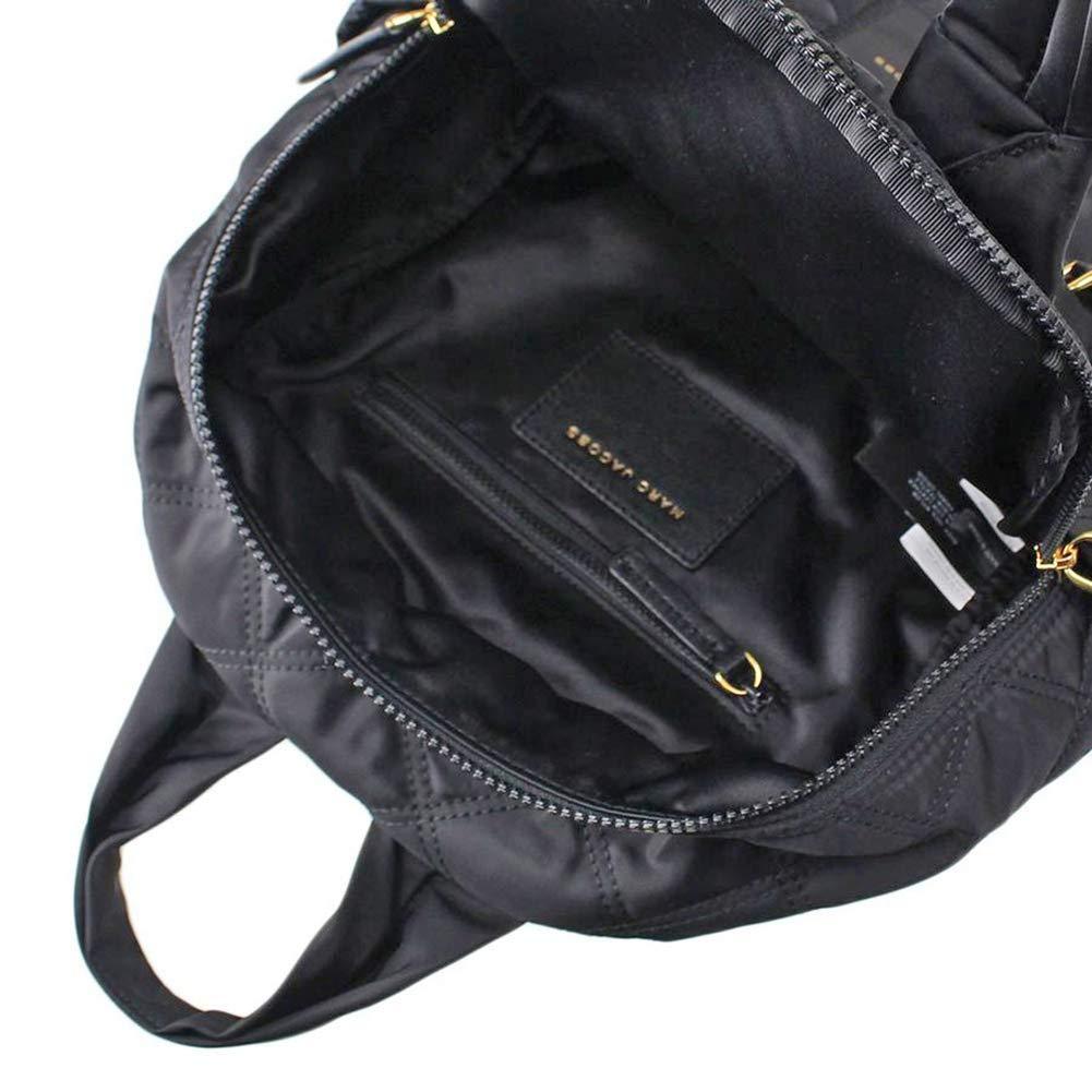 Marc Jacobs Womens Nylon Knot Backpack Black