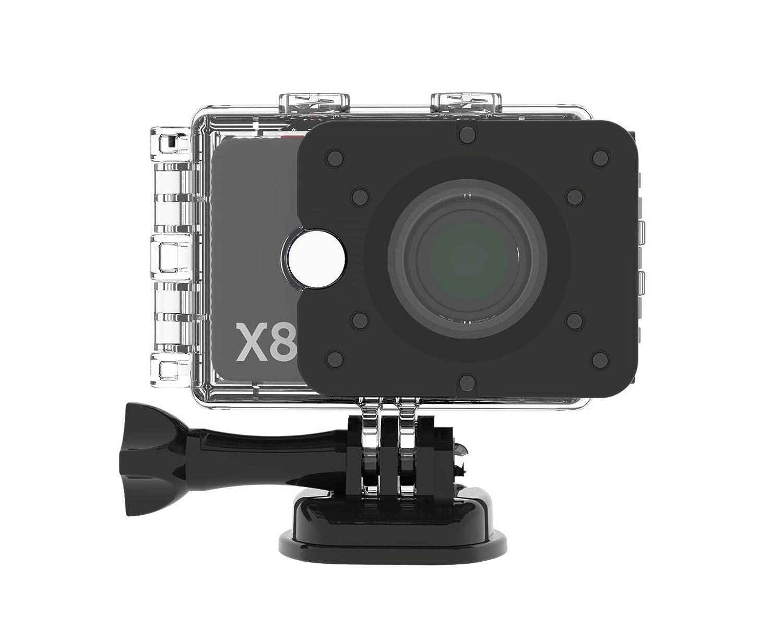 Actionpro 200004X8cámara de acción y Deportes (12megapíxeles, 2Pulgadas, LCD) Plata/Negro