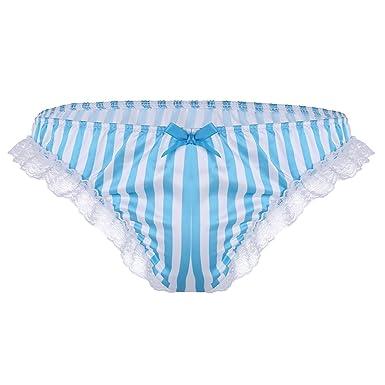 3e2d1af190265 iiniim Slip Triangle Chic Homme Dentelle Extensible sous-vêtement ...