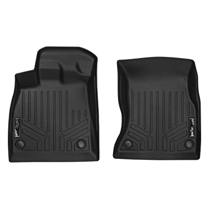 Custom Car Floor Mats for Land Rover 2013-2017 Range Rover 5-Seat Waterproof Non-Slip Leather Carpets Automotive Interior Accessories 1 Set Red