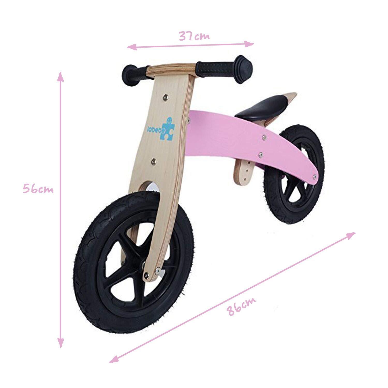 ea274bc3e99 labebe - Balance Bike Toddler, Kids Balance Bike Wood, Baby Balancing Bike,  Wooden Mini Balance Bike, Balance Bicycle for 6-24M Child, Pink Balance Bike  for ...