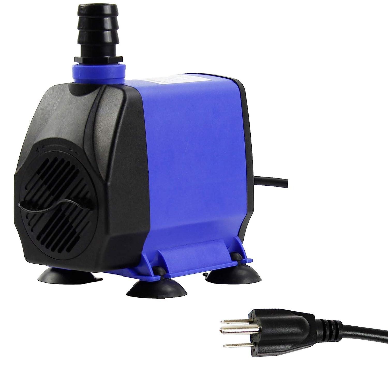 Aquaneat 90-1450 GPH Submersible Water Pump Adjustable Powerhead Aquarium Fish Tank Fountain Hydroponic