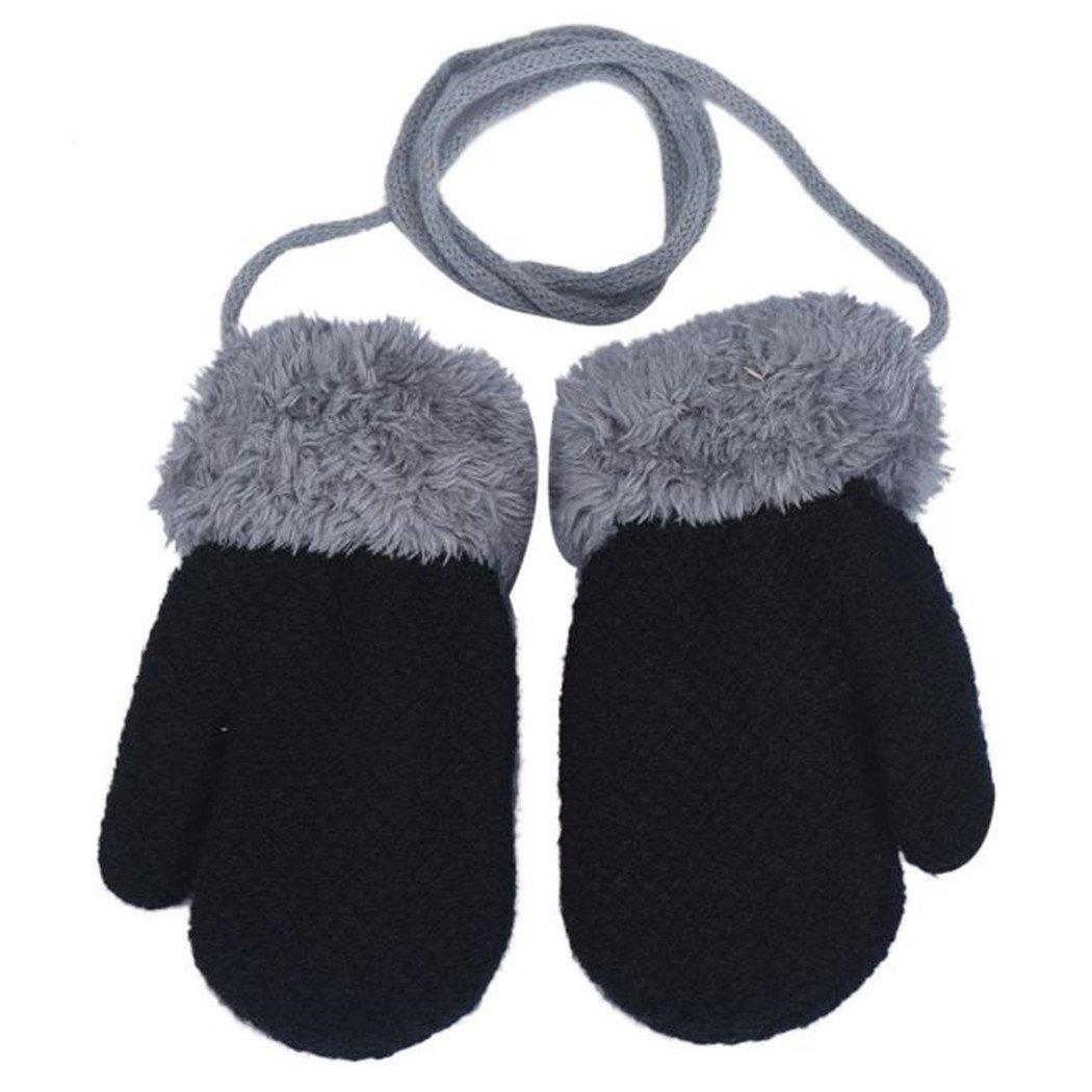 Fami Winter Lovely Baby Boy /& Girl garder au chaud en tricot Mitaines