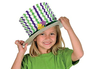 1d62cbdc91020 12 Decorate Your Own White Kids Top Hats for Crafts: Amazon.co.uk ...