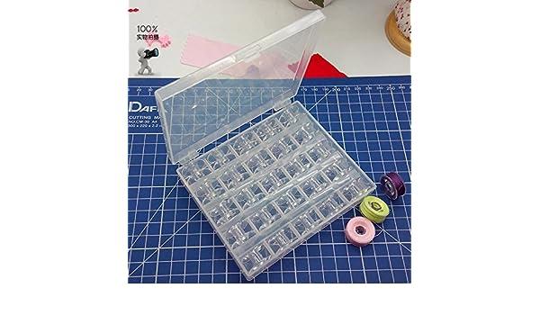 HONEYSEW Recambios maquina de coser domestica canilla de plástico conjunto 2518 P: Amazon.es: Hogar