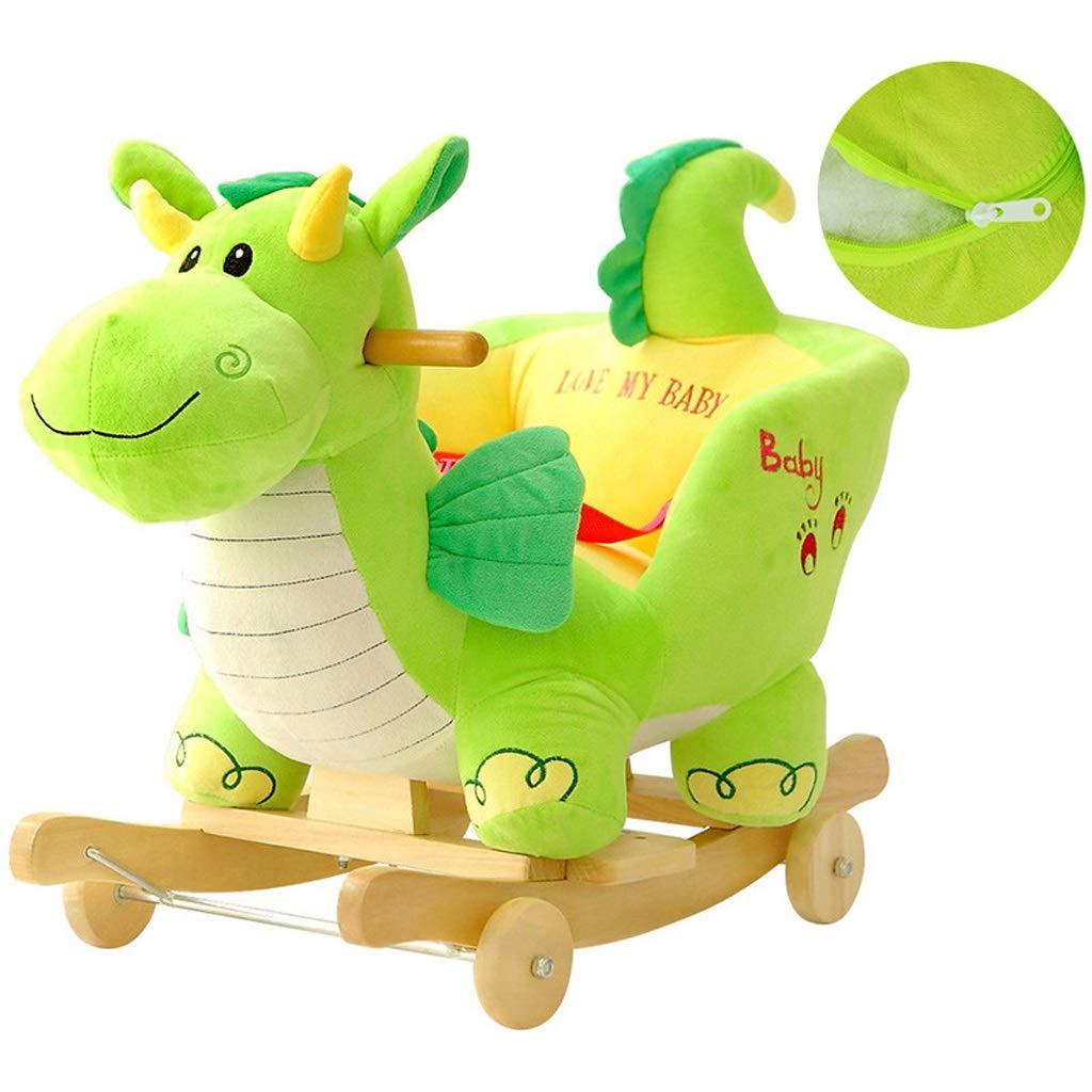 gran descuento Mecedoras Bebé Juguete de educación educación educación temprana Dinosaurio Música Caballo Regalo Luces LED  ventas calientes