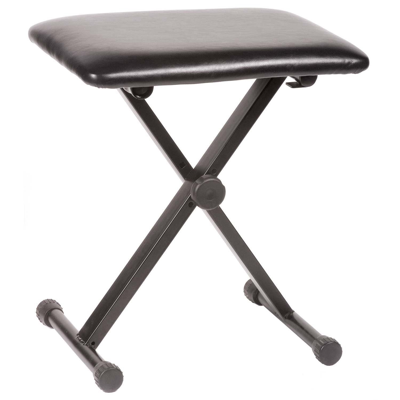 Amazon JSI Adjustable & Portable Piano Cello Musician Bench