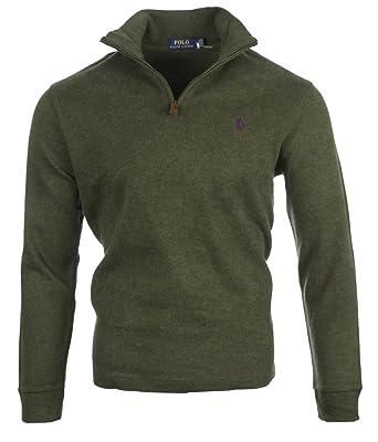 12f1b4337dba89 Ralph Lauren - Pull - Homme - Vert - Medium  Amazon.fr  Vêtements et  accessoires