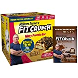 FITCRUNCH Snack Size Protein Bars | Designed by Robert Irvine | World's Only 6-Layer Baked Bar | Just 3g of Sugar & Soft Cake Core (18 Snack Size Bars + FC Protein Included, Chocolate Peanut Butter) Review