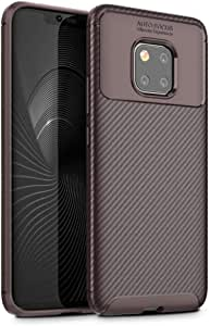 Luxury Cover Phone Case For Huawei Mate 20 Pro brown