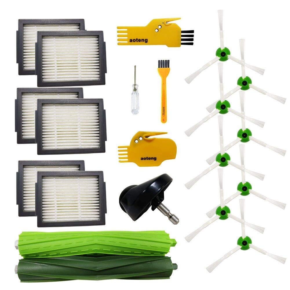 Replacement Accessories For IRobot Roomba Series E5 E6 E7 Vacuum Cleaner Kits