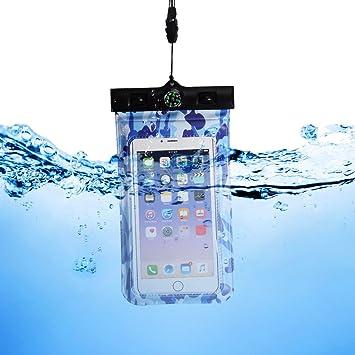 KELYDI Casos de teléfono a prueba de agua, agua del caso de prueba de teléfono