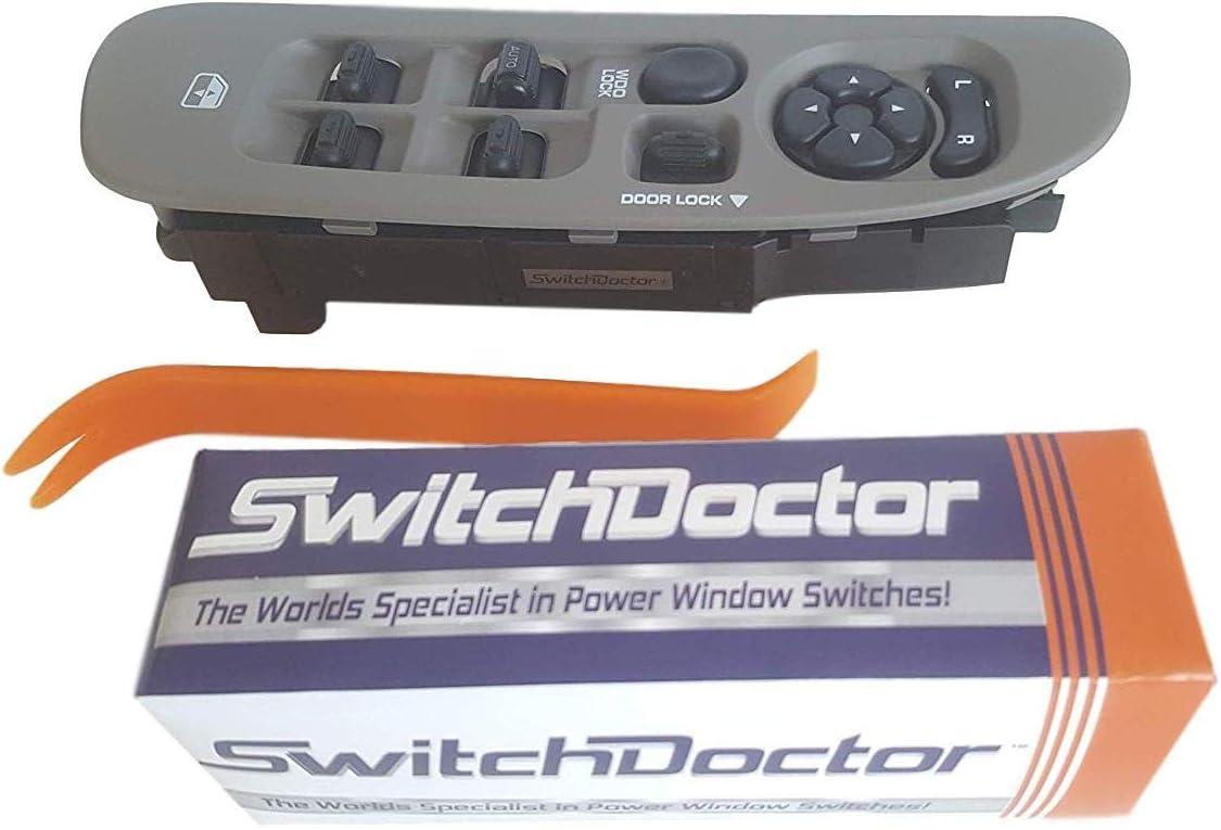 4 Door SWITCHDOCTOR Black Bezel for 2002-2009 Dodge Ram
