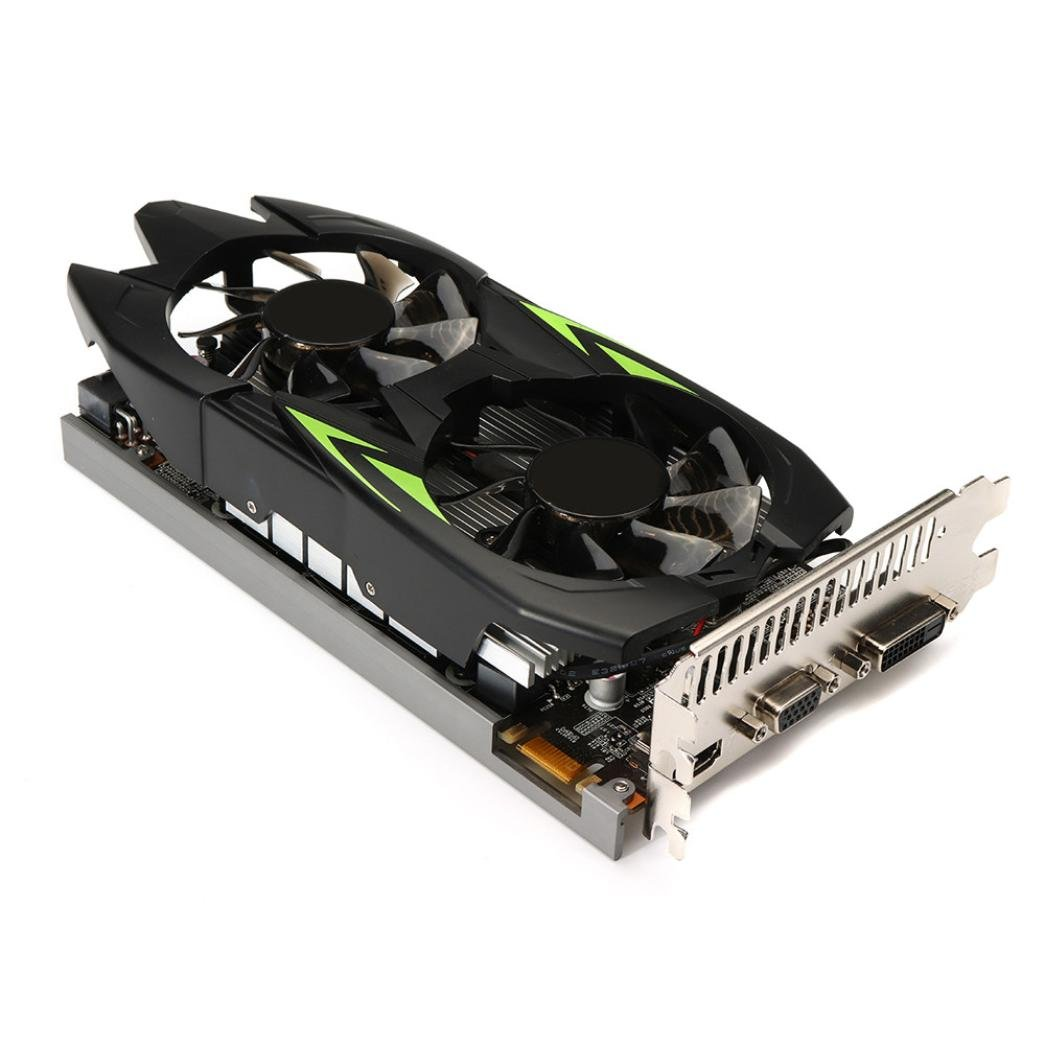 Clearence!! Gaming Graphic Card 3GB GTX660TI 3GB GDDR5 192bit VGA DVI HDMI Graphics Card with Fan (Black) by Saingace (Image #1)