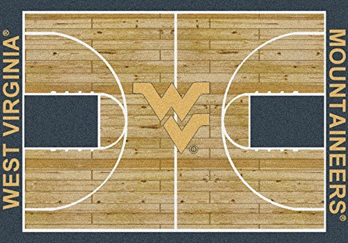 (West Virginia Mountaineers NCAA Area Rug - Home Court (3'10