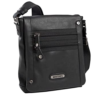9f10ca61cd0 Matties Bags - Shoulder Bag Man Matties Black  Amazon.co.uk  Luggage