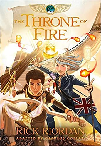 The Throne of Fire (Kane ), The Graphic Novel: Orpheus Collar ...