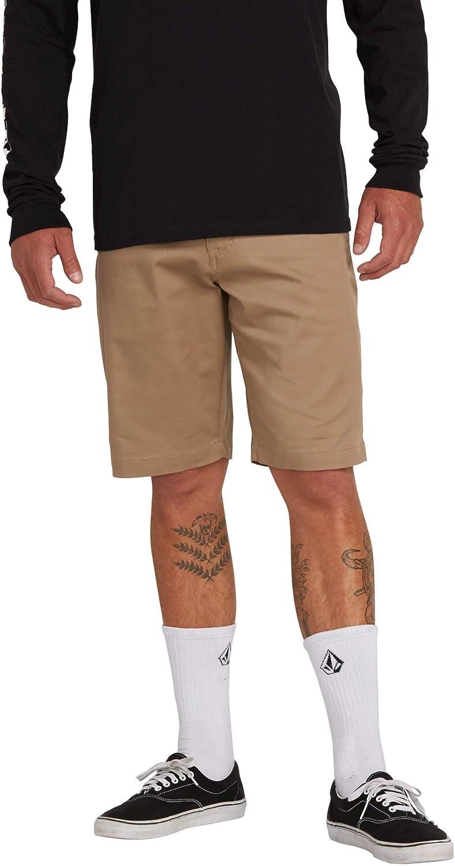 Volcom Men's Frickin Modern Stretch Chino Short: Clothing