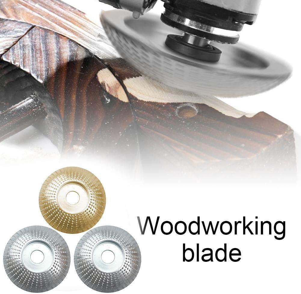Disque de Polissage Sculpture Outil abrasif de pon/çage Outil Rotatif de Gravure pour Le Travail du Bois sycamorie Meule Angle en Bois pour Meuleuses