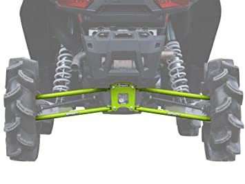Polaris RZR 1000 Suspensión trasera enlaces (18 mm verde lima Squeeze): Amazon.es: Coche y moto