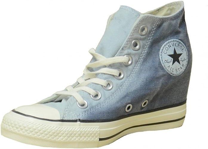 scarpe converse zeppa