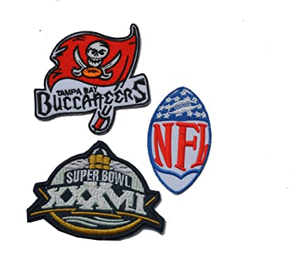 Amazon com: Hipatch Tampa Bay Buccaneers Embroidered Patch