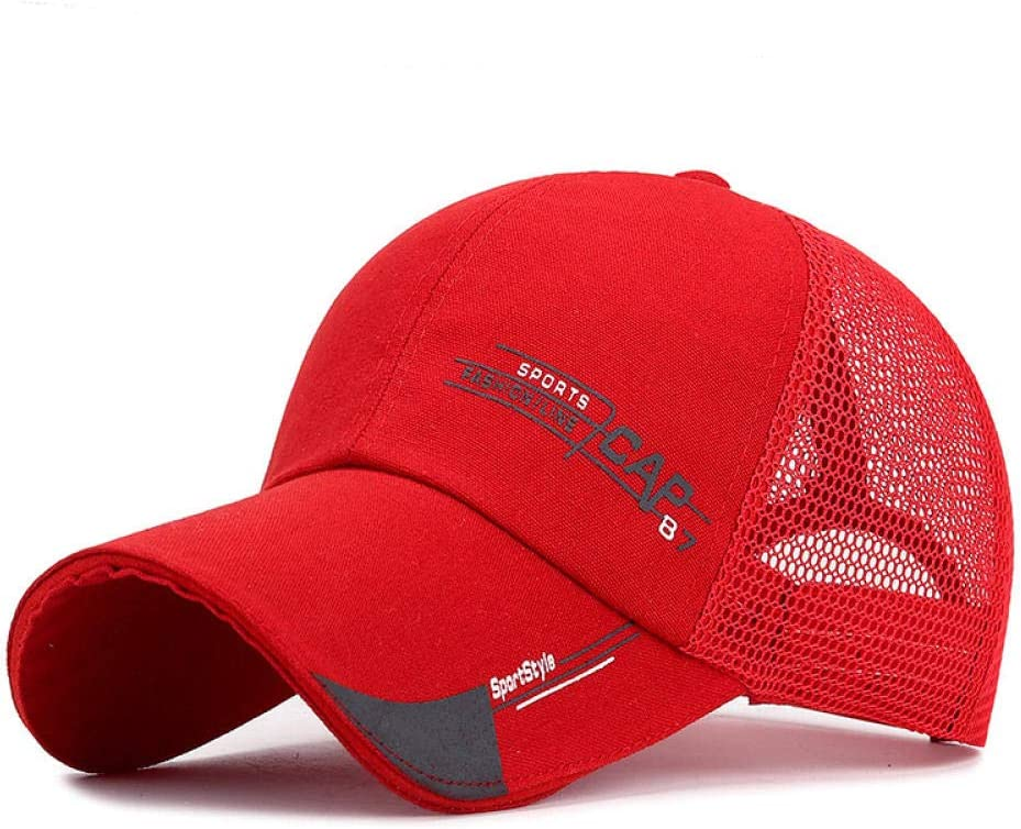 Fashion Sport Summer Baseball Cap Men Women Dad Hat Gorra Hombre Mesh Cap Snapback Trucker Cap