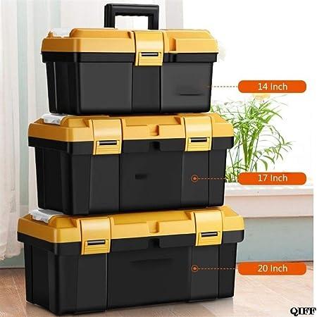 Caja de almacenamiento de herramientas Gran Mantenimiento Portátil de los hogares Electricistas En caja multifuncional Herramientas de hardware Herramientas de reparación de automóviles Espesar de coc: Amazon.es: Hogar