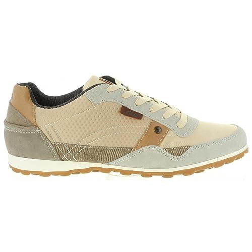 Zapatillas Deporte de Hombre LOIS JEANS 84003 57 BEIG: Amazon.es: Zapatos y complementos
