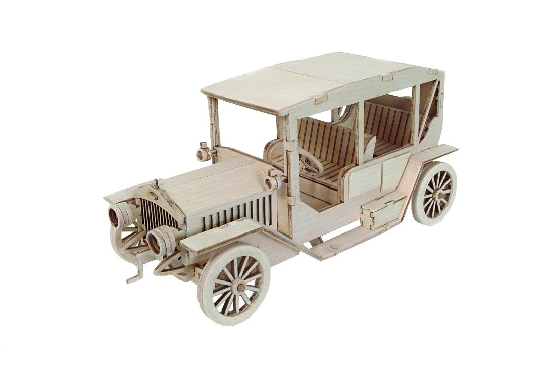 Keranova 5006 12 x 27 x 12,1 cm artymon Classic Car Modell 3D Puzzle (114-piece)