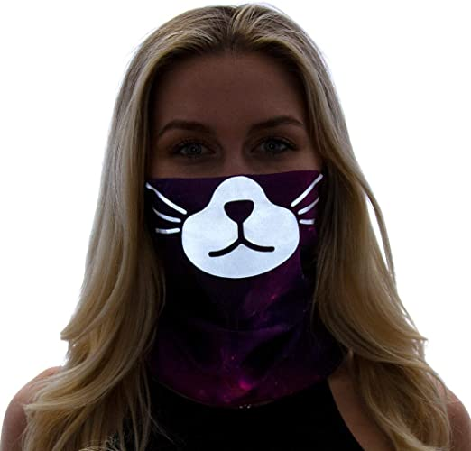 ANIMAL FACE DUST MASK BANDANA LION BURNING MAN CLOTHING HEADBAND FESTIVAL RAVE SCARF ATLANGAIA GAIA OUTFIT