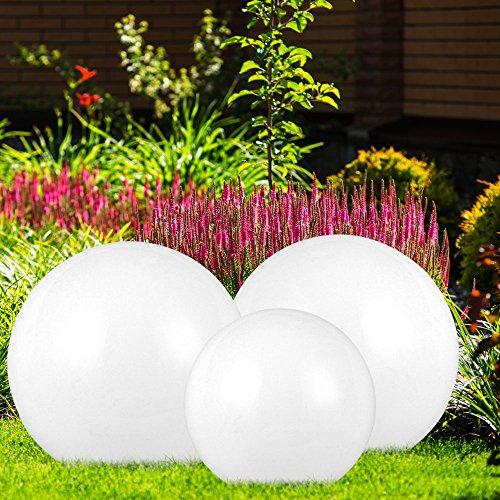2 x lampe LED luminaire extérieur jardin terrasse éclairage DEL ...