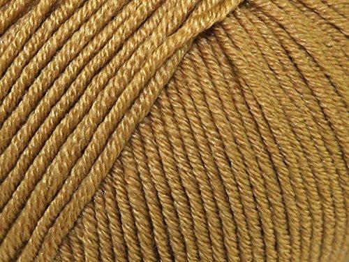 Sublime Baby Cashmere Merino Silk Knitting Yarn DK 574 Golden Goose - per 50 gram ball (Merino Dk Yarn)